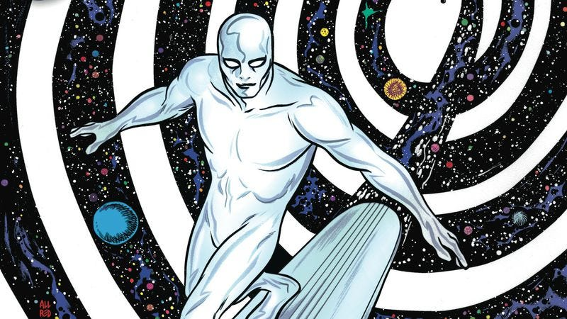 Illustration for article titled Exclusive Marvel preview: Norrin and Dawn try to rebuild the universe in Silver Surfer #15
