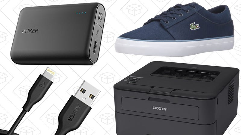Illustration for article titled Today's Best Deals: Pokégear, Lacoste Shoes, Brother Printers