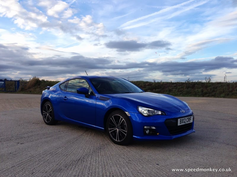 Illustration for article titled Was the Subaru BRZ influenced by the Maserati GranTurismo?