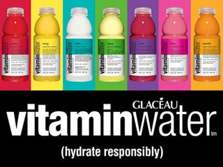 Illustration for article titled Yeah, I'd Imagine Vitamin Water Ad People Can't Be Too Happy With This (Update)