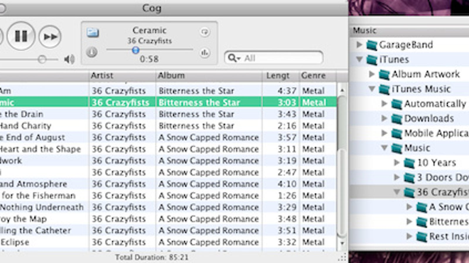 Cog Is a Simple, Now Playing-Based Music Player