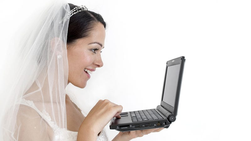 Illustration for article titled Getting Married By a Computer Is How Weddings Should Be Done