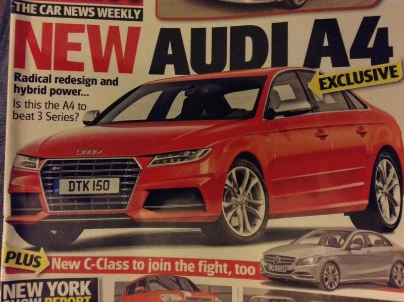 Illustration for article titled Is this the next Audi A4