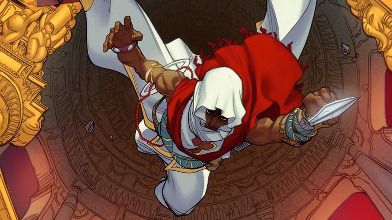 Illustration for article titled Ubisoft Reveals A New Assassin's Creed Set In India (It's a Comic)