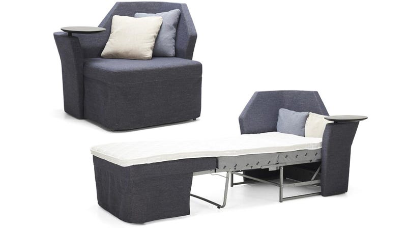 an incredibly tiny sofa bed for your skinniest houseguests bed for office