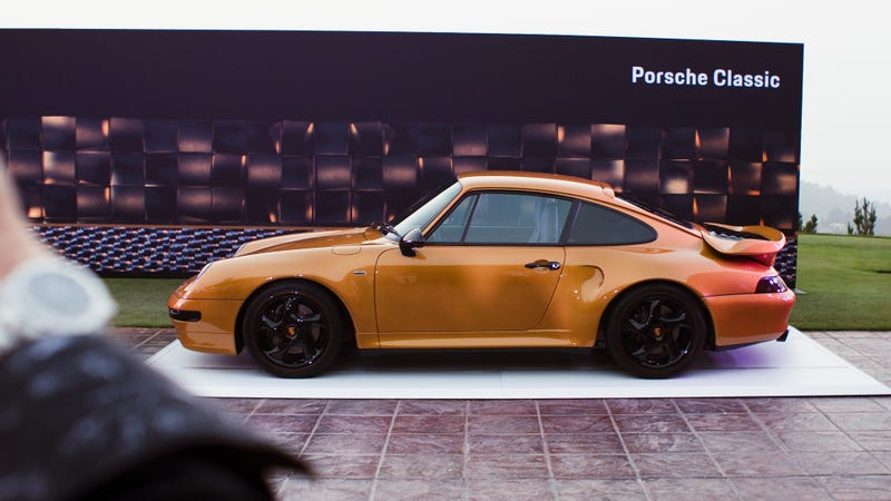 Here's Exactly Why The Brand New 2018 Porsche 993 Turbo Isn't Road Legal