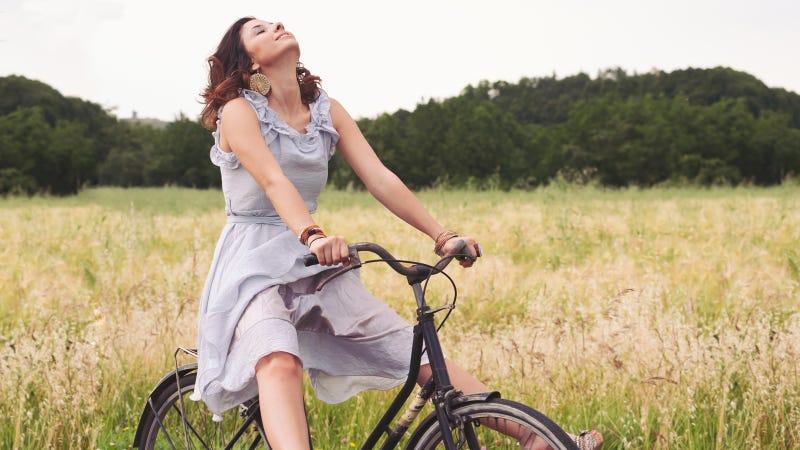 Illustration for article titled Este sillín con vibración hará tus paseos en bicicleta inolvidables