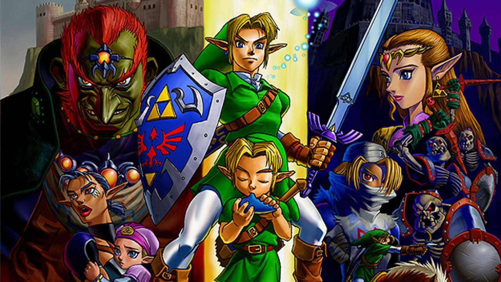 The Pleasure Of Playing A Randomized Version Of The Legend Of Zelda