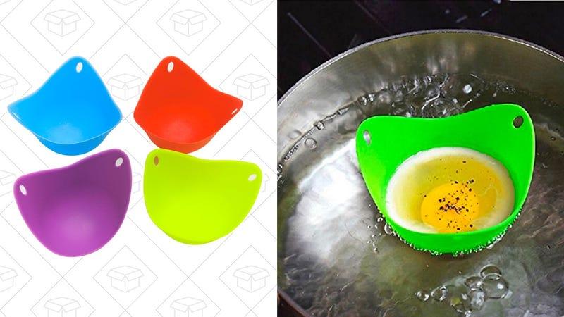 KAIL dll-05 Silicone Egg Poacher Cups | $7 | Amazon
