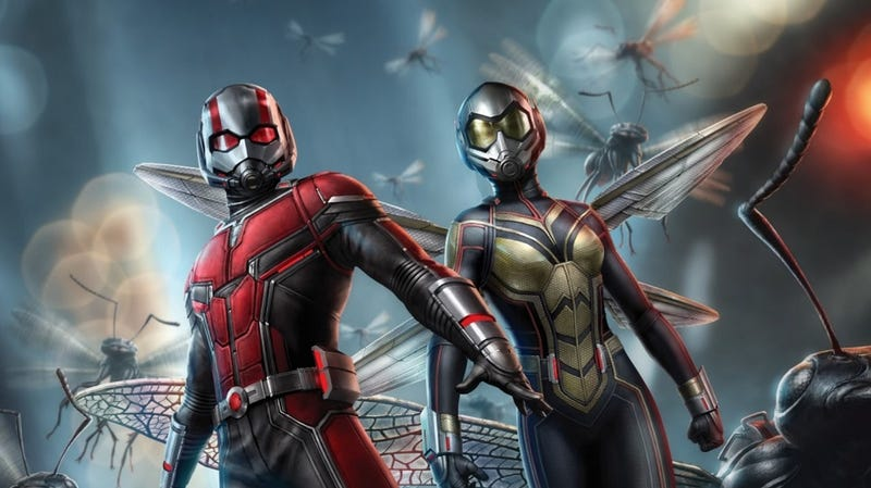 Illustration for article titled Ant-Man and The Wasp