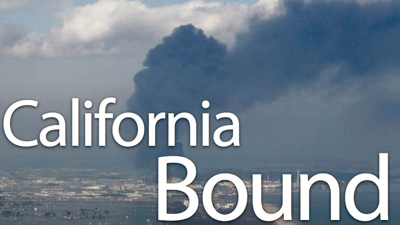 Illustration for article titled Radioactive sulfur over California shows exactly how bad the Fukushima radiation leak was