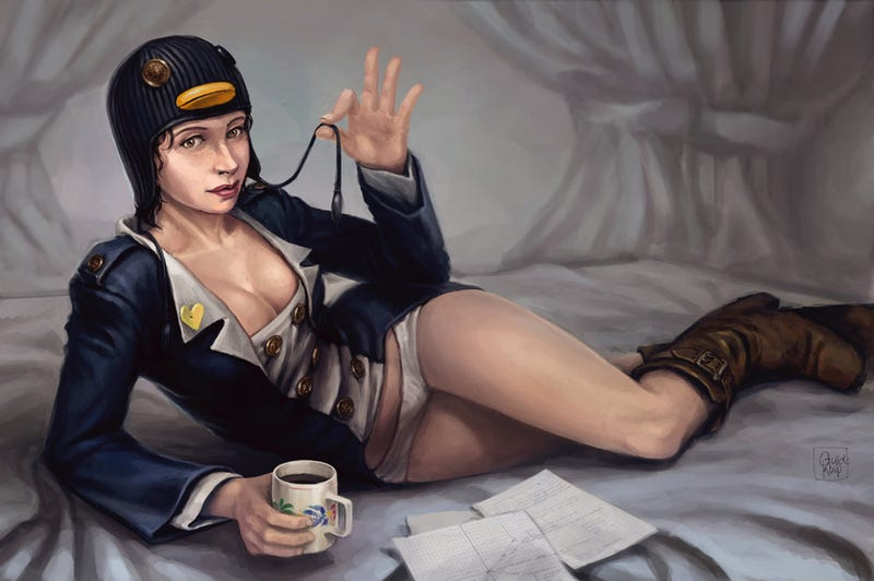 Illustration for article titled The Extreme Sexiness of Concept Art Pin-Ups [NSFW]