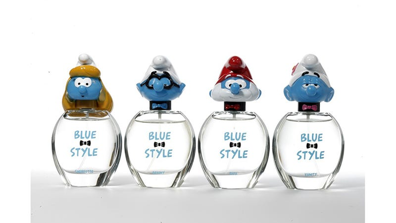 Illustration for article titled Christ: Smurfs 2 Hath Wrought a Fragrance. Nay, a SMURFUME