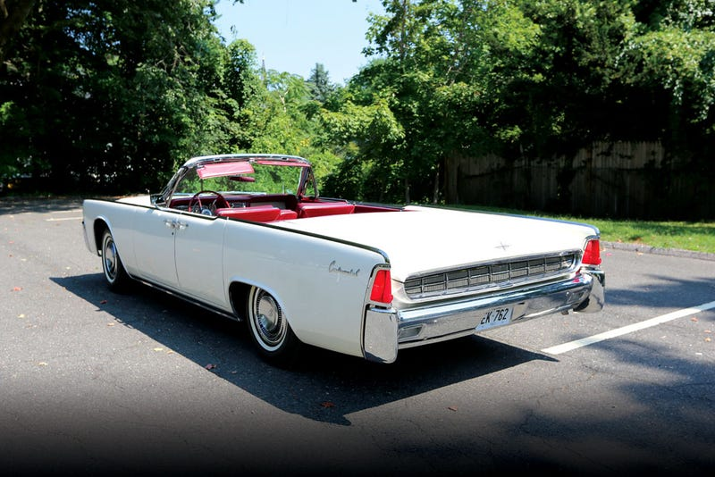 Illustration for article titled Now You Can Own The Second-To-Last Convertible JFK Ever Rode In