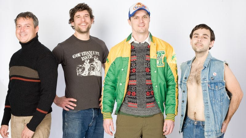 """Illustration for article titled Propagandhi embrace full-body riffing on """"Night Letters"""""""