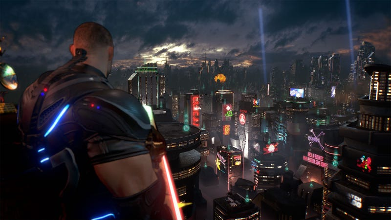 Illustration for article titled Crackdown 3 Impressions: So Much Chaos, So Many Orbs