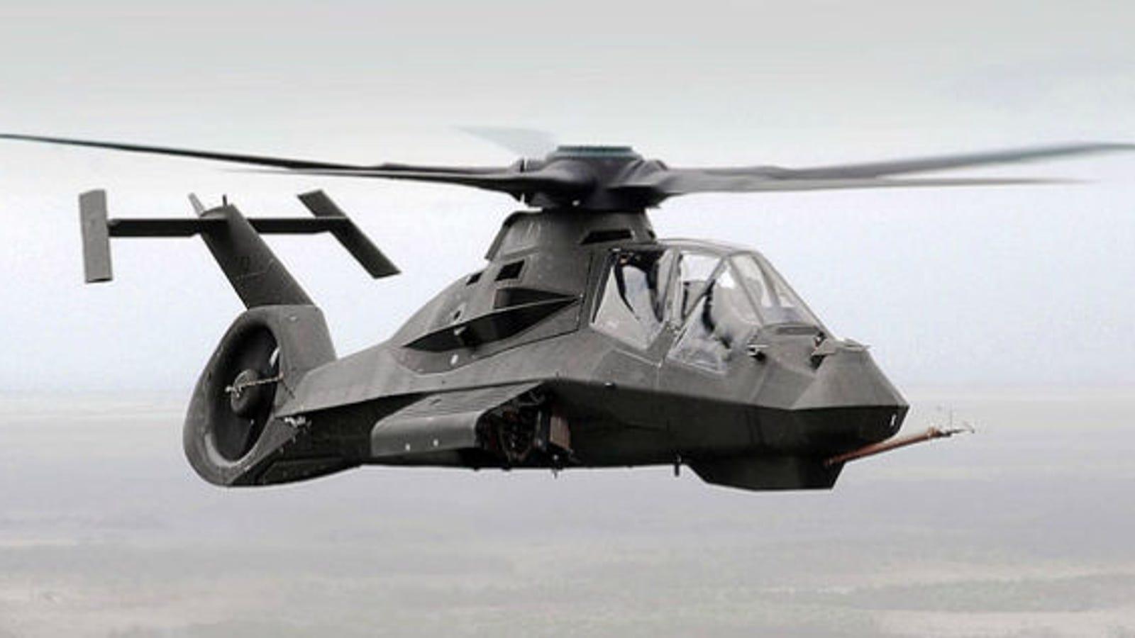 El helicóptero de combate de 7.000 millones que no se llegó a fabricar