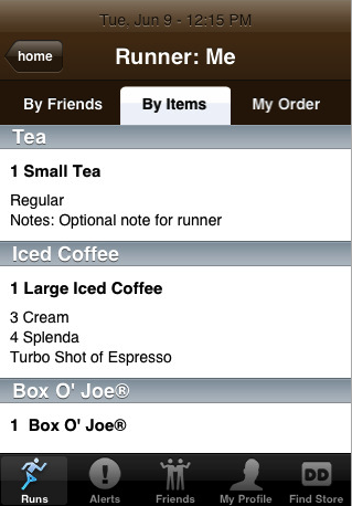 Illustration for article titled Dunkin' Donuts 'Dunkin Run' iPhone App Will Change The Lives Of Office Lackeys