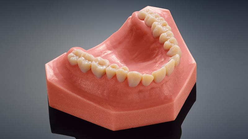 These Terrifyingly Real Teeth Were Made By a New Dental 3D ...