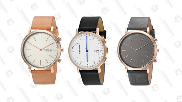 Strap On a Fashionable Skagen Hybrid Smartwatch for Just $50 Today