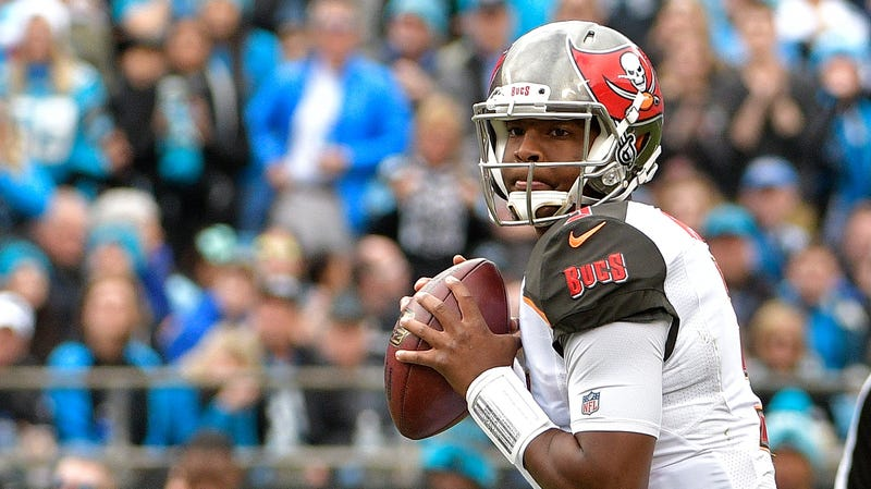 """Illustration for article titled Jameis Winston Says He Has """"Grown And Learned"""" From The Experience Of Grabbing An Uber Driver's Crotch"""