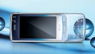 Illustration for article titled LG GD900 Phone Slides to Reveal a See-Thru Keypad