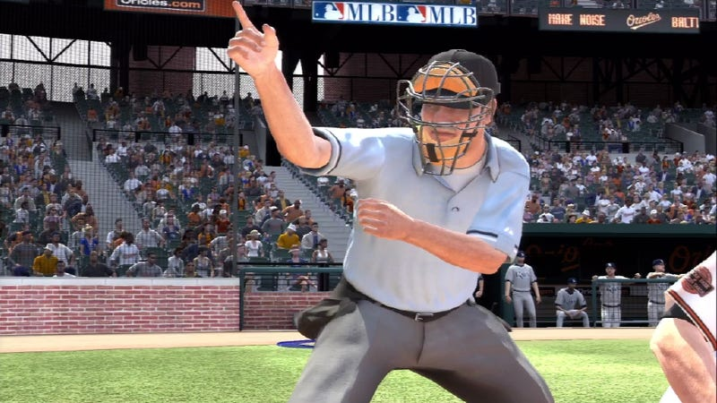 Illustration for article titled Better Know an Umpire: Wally Hughes of MLB 12 The Show