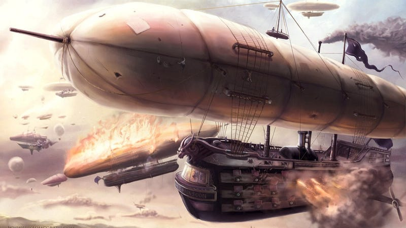 Illustration for article titled The Coolest Airship Pictures You've Ever Seen