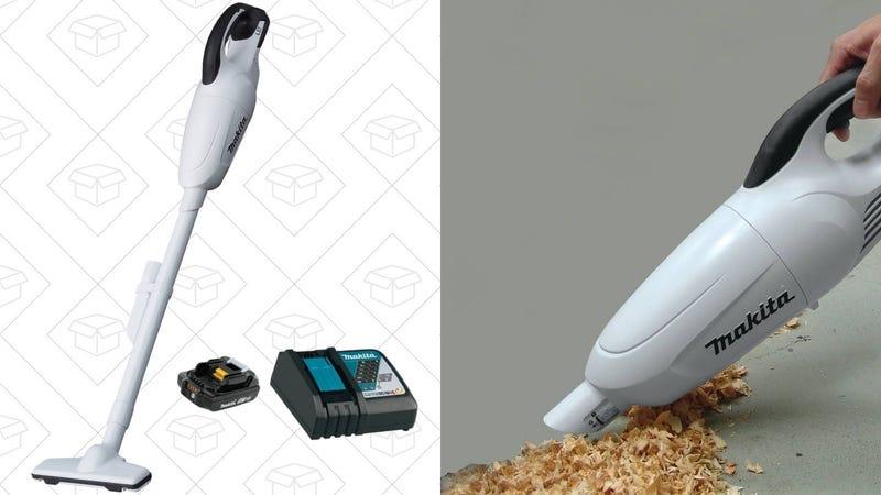 Makita 18V Li-Ion Cordless Vacuum, $109