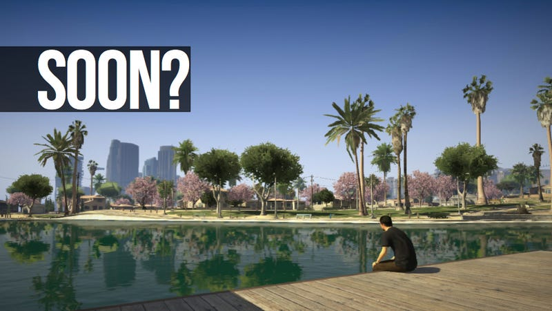 Illustration for article titled This is Why Some Smart People Think You'll Be Playing Grand Theft Auto V By April