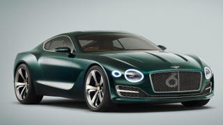 Illustration for article titled This sporty Bentley is nice, painted in BRG and all