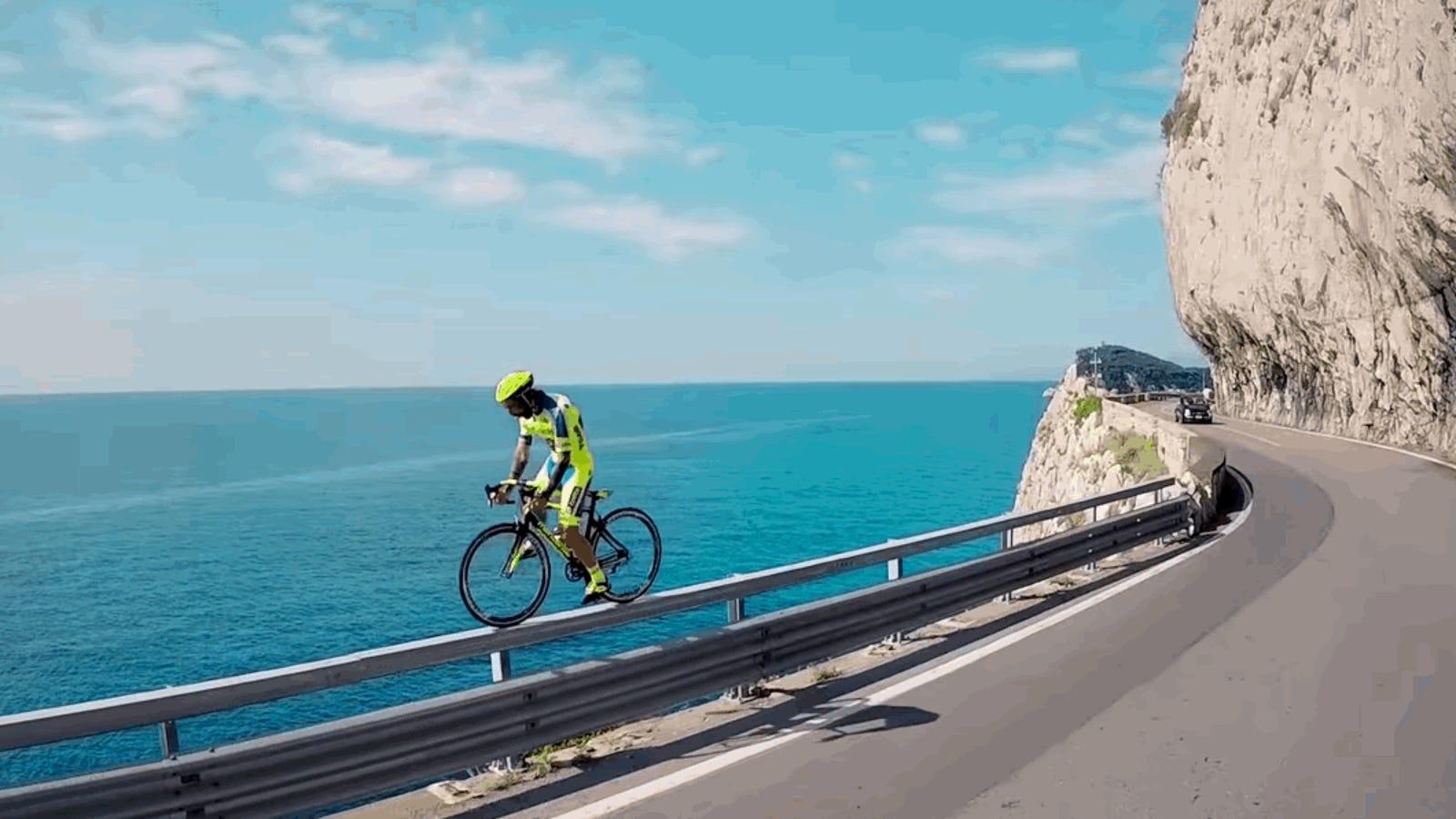 Get A Load Of Vittorio Brumotti, Maniac Cycling Stuntman