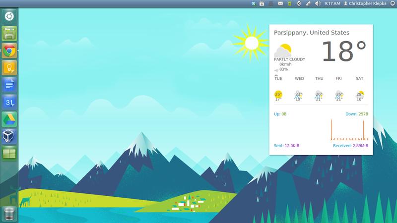 The GooBuntu Desktop