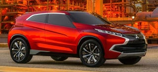 Illustration for article titled Mitsubishi XR-PHEV Is A Statement That The Company's Here To Stay