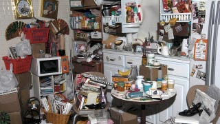 Illustration for article titled See What It Looks Like When Barbie Becomes A Hoarder