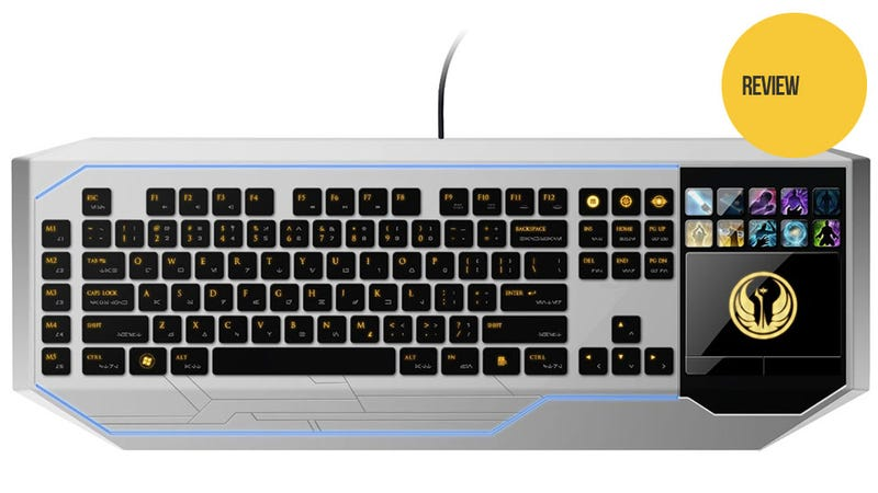 Illustration for article titled With The Old Republic Going Free to Play, Now You Can Afford This Ridiculously Overpriced Keyboard