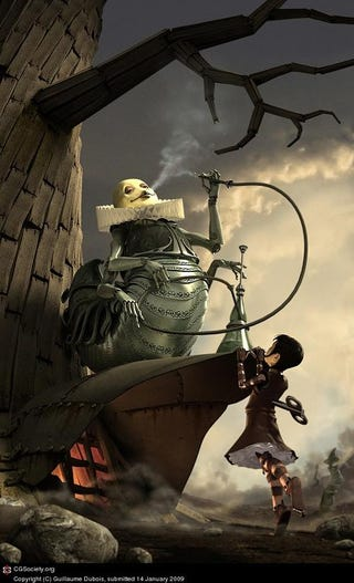 "Illustration for article titled Why ""Alice's Adventures In Wonderland"" Is A Steampunk Masterpiece"