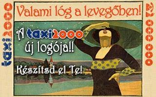 Illustration for article titled Szarrágó Szaniszló lett a Taxi 2000 reklámfigurája?