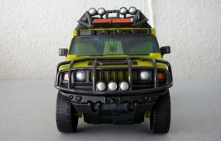 Illustration for article titled Transformers Toys For Tots: Ratchet's A Whore Of A Hummer
