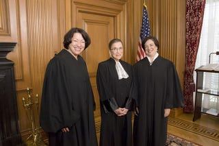 Illustration for article titled Supreme Court's New Female Justices Not Afraid To Speak Up