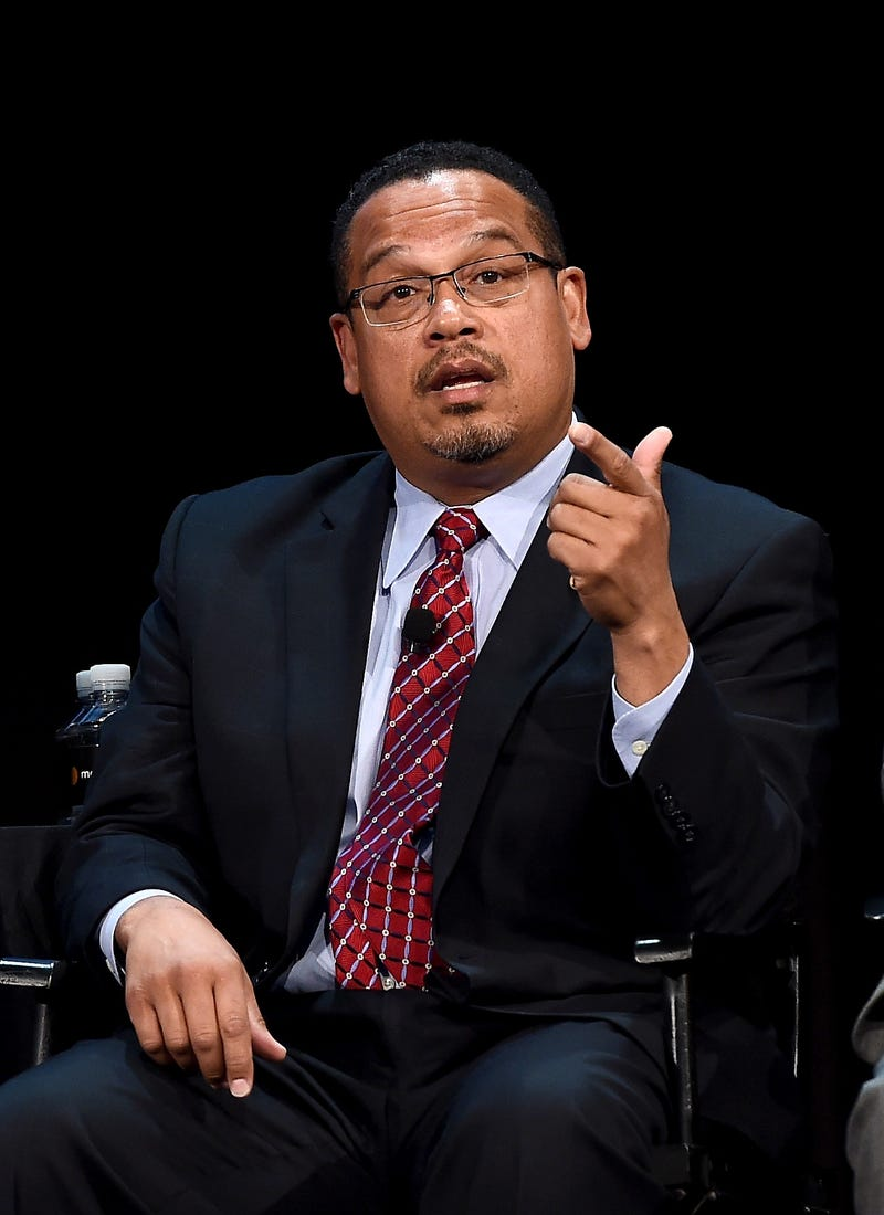 Rep. Keith Ellison (D-Minn.) Ilya S. Savenok/Getty Images for The New Yorker