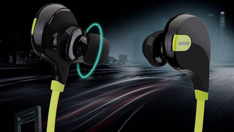 Mpow's Swift Bluetooth 4.0 Wireless Earbuds