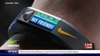 Illustration for article titled A Fantastic (Fake) Fitness Tracker Tells You What You're Running From