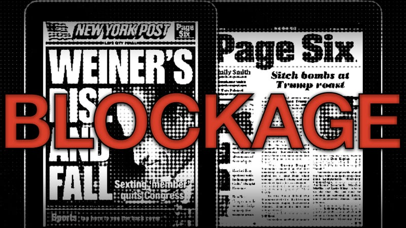 Illustration for article titled The New York Post Blocks Mobile Safari Vistors from Accessing Their Web Site