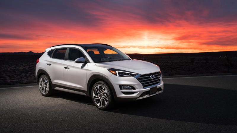 The 2020 Hyundai Tuscon.