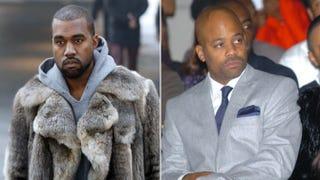 Kanye West; Damon DashFrancois Guillot/Getty Images; Stuart Wilson/Getty Images