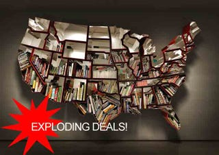 Illustration for article titled youwant getting US bookshelf COOPERATION