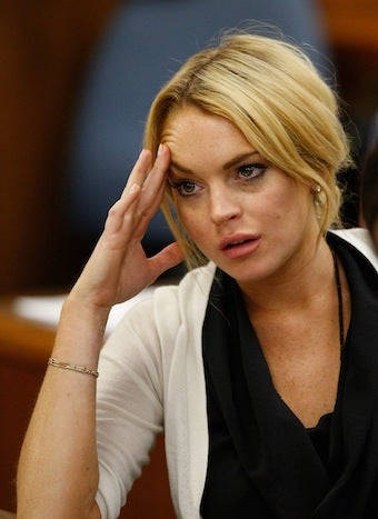 Illustration for article titled Lindsay Lohan Fails Drug Test, Faces Jail Time