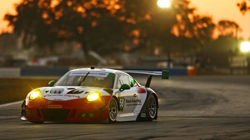 Illustration for article titled Here's Why You Should Burn Your Saturday Watching The 12 Hours Of Sebring