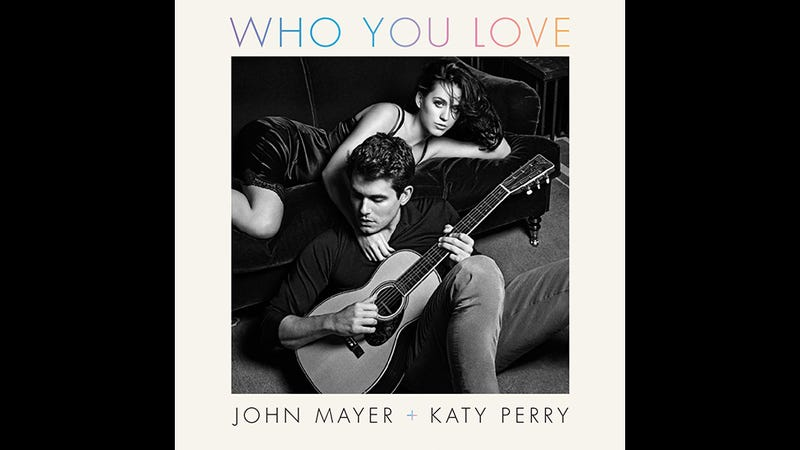 Illustration for article titled Here's Katy Perry and John Mayer's Moody, Insufferable New Album Art